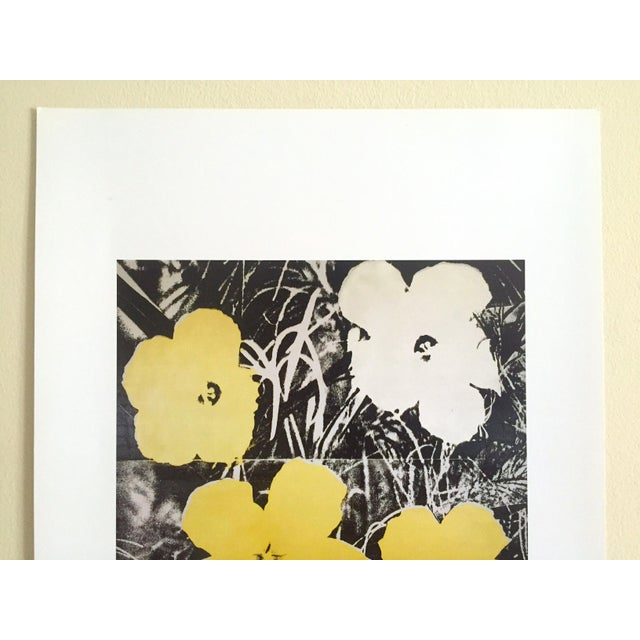 "American Andy Warhol Foundation Collector's Pop Art Lithograph Print ""Flowers"" 1966 For Sale - Image 3 of 10"
