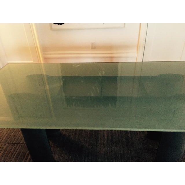 Glass Dining Table - Image 3 of 5