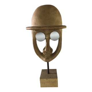 "David Gil ""Man in Hat"" Sculpture For Sale"