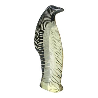Art Deco Lucite Penguin For Sale