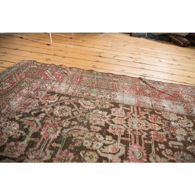 """Antique Distressed Karabagh Rug Runner - 5'4"""" X 13' For Sale - Image 12 of 13"""