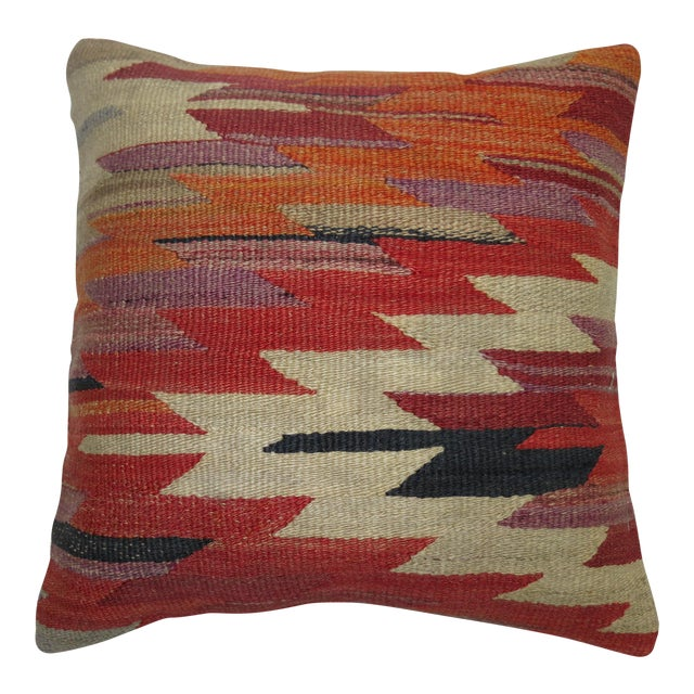 Turkish Kilim Pillow For Sale
