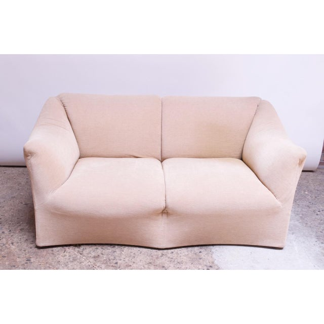 Cassina 1970s Tentazione Loveseat Two-Seat Sofa by Mario Bellini for Cassina For Sale - Image 4 of 13