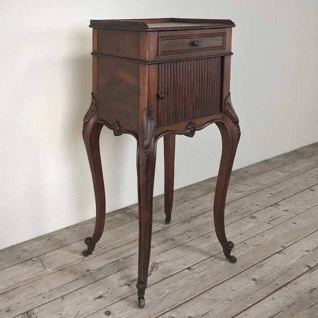 Antique Country French Nightstand For Sale - Image 10 of 13