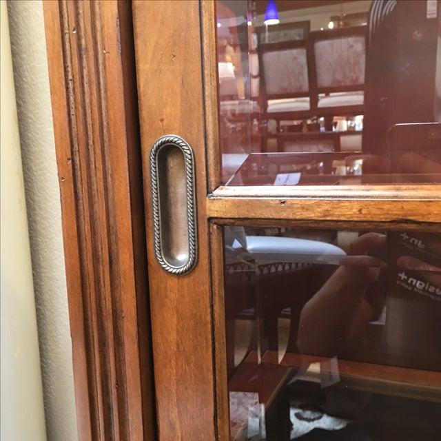Henley Cherry Sliding Door Book Case - Image 4 of 11