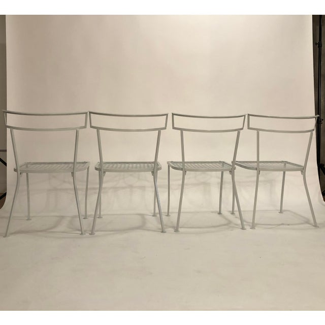 Klismo Patio Dining Chairs - Set of 4 For Sale - Image 4 of 9