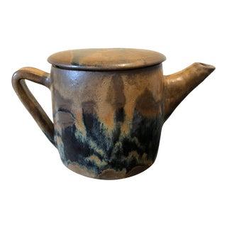 Modernist Studio Pottery Teapot For Sale