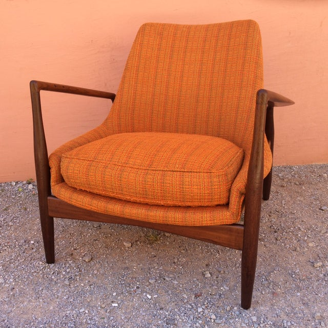 Rare Ib Kofod-Larsen 'Seal' Easy Chair For Sale - Image 5 of 10