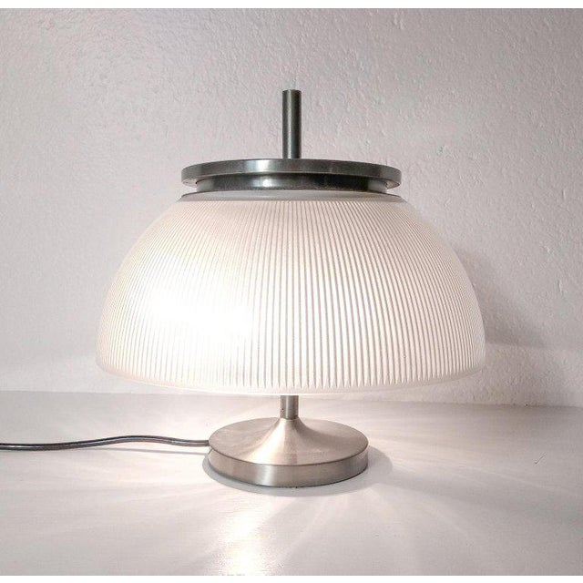 Artemide 1960s Sergio Mazza for Artemide 'Alfetta' Table Lamp For Sale - Image 4 of 9