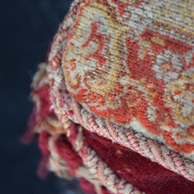 Wood 19th Century English Ebonised Carpet Stool For Sale - Image 7 of 13