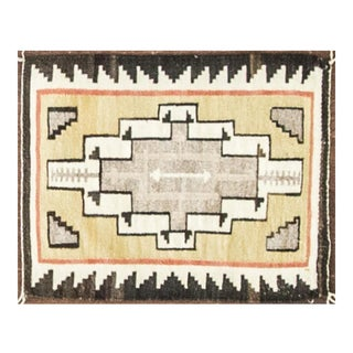 "20th Century Navajo Rug-21"" X 26"" For Sale"