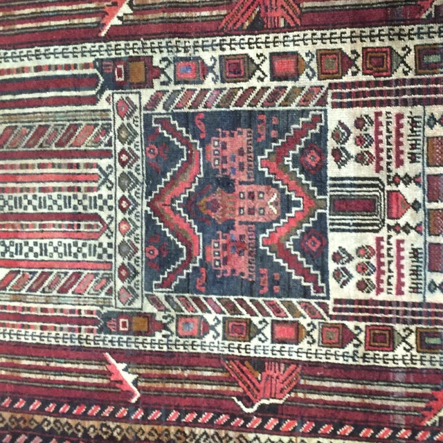 "Turkaman Persian Rug, 2'5"" x 4'1"" - Image 5 of 8"