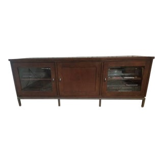 Transitional Ethan Allen Brooklyn Media Cabinet For Sale