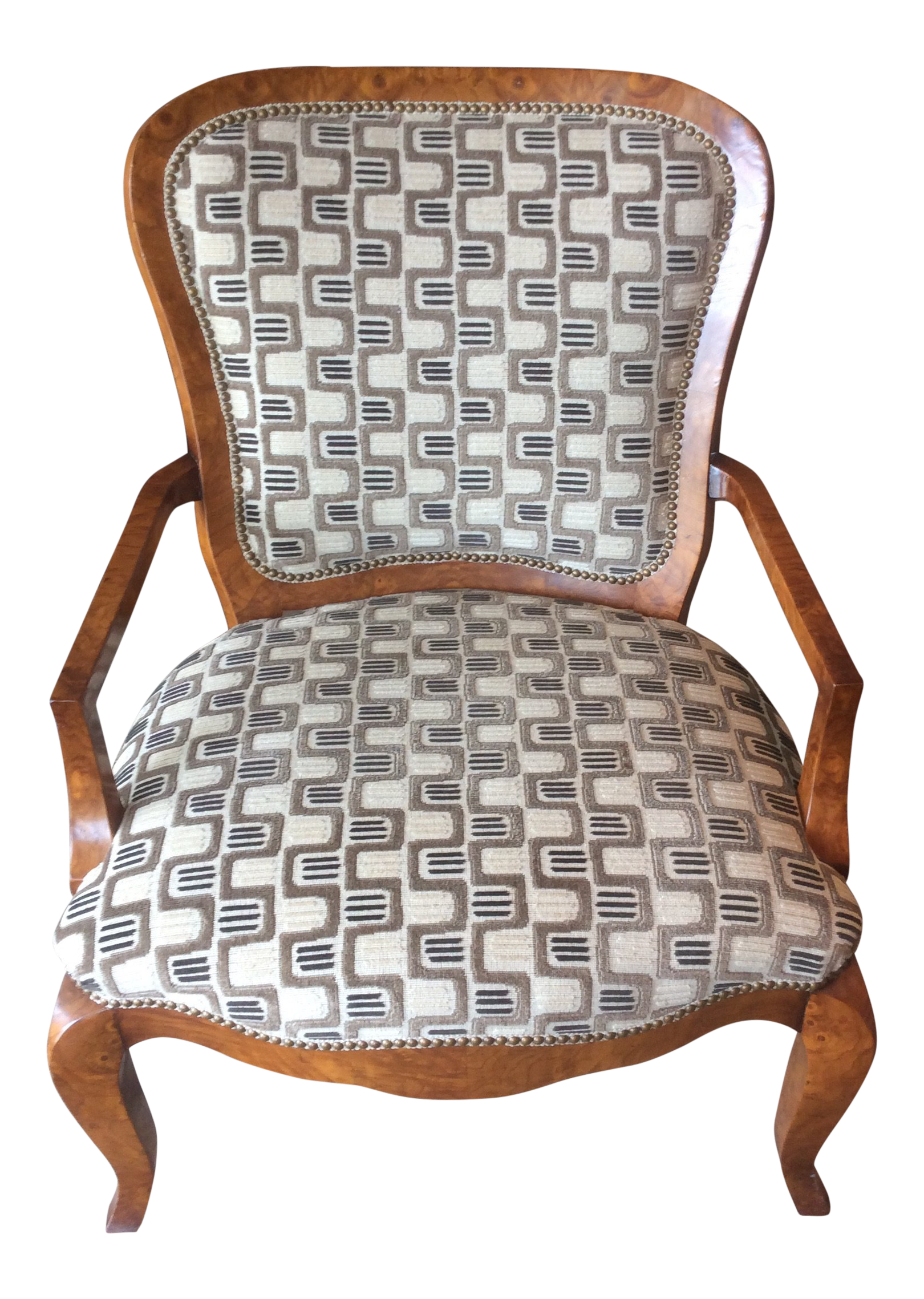 William Switzer Large French Style Occasional Chair  sc 1 st  Chairish & William Switzer Large French Style Occasional Chair   Chairish