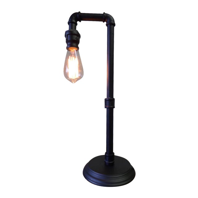 Industrial Pipe Table Lamp - Image 1 of 5