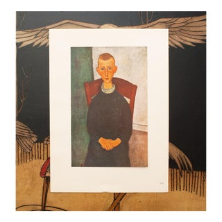 1940s Amedeo Modigliani, Le Gosse Du Concierge Lithograph For Sale