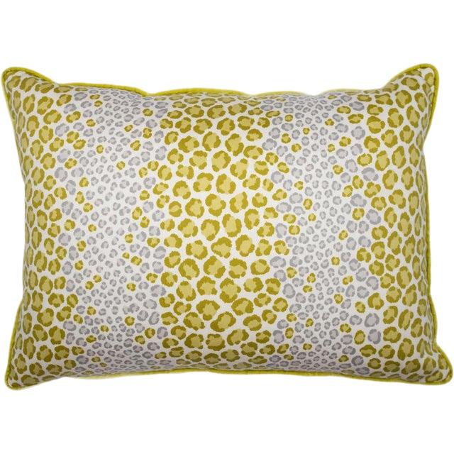 Bright and Wild Animal Print Pillow For Sale