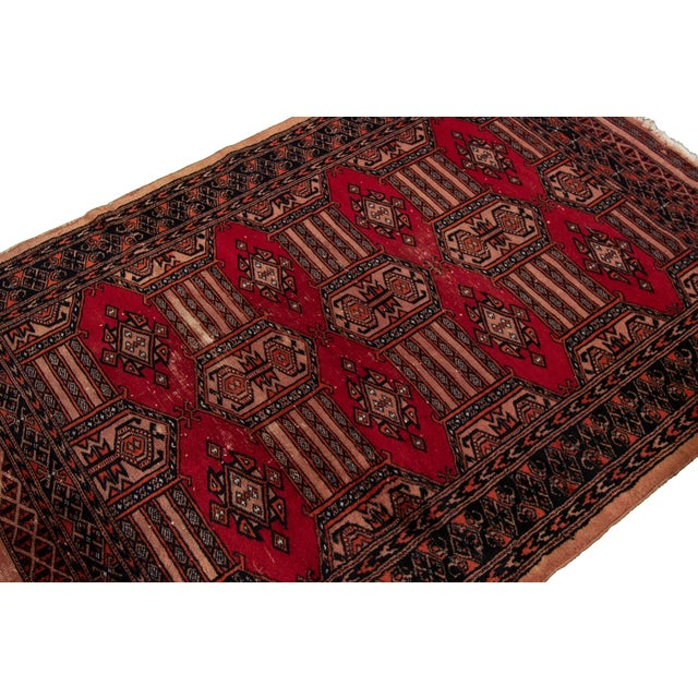 """Vintage Persian Rug, 3'02"""" X 4'10"""" For Sale - Image 4 of 8"""