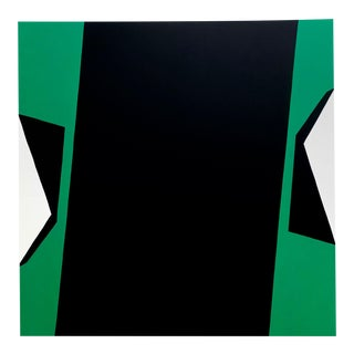 """Ulla Pedersen """"Cut-Up Canvas 2001"""", Painting For Sale"""