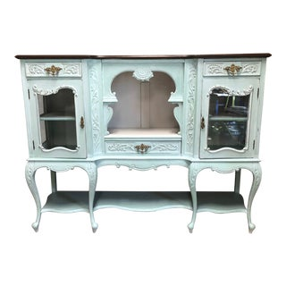 Mid 19th Century Antique Sideboard Buffet