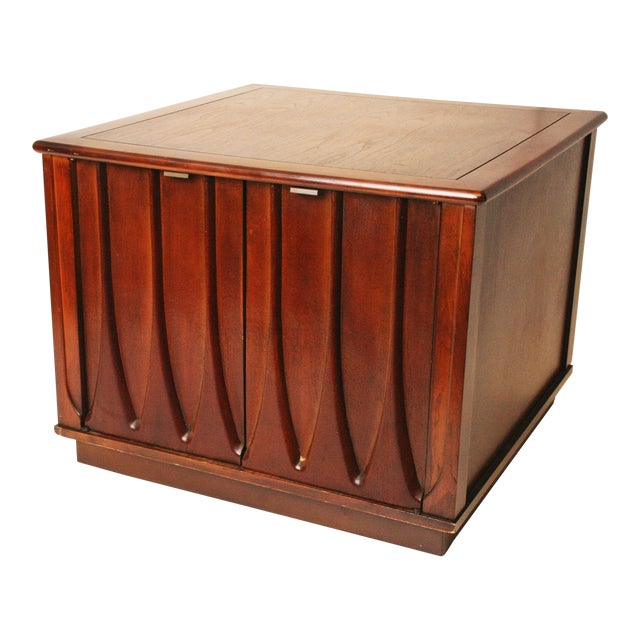Harvey Probber Style Mid-Century Modern Square Side Table - Image 1 of 11