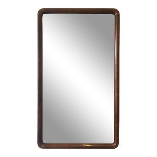 1960s Deep Framed Mirror For Sale