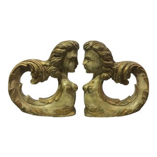 20th Century Antique Architectural Ornaments- A Pair For Sale