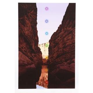 Antonio Peticov 'Santa Elena Canyon' Lithograph