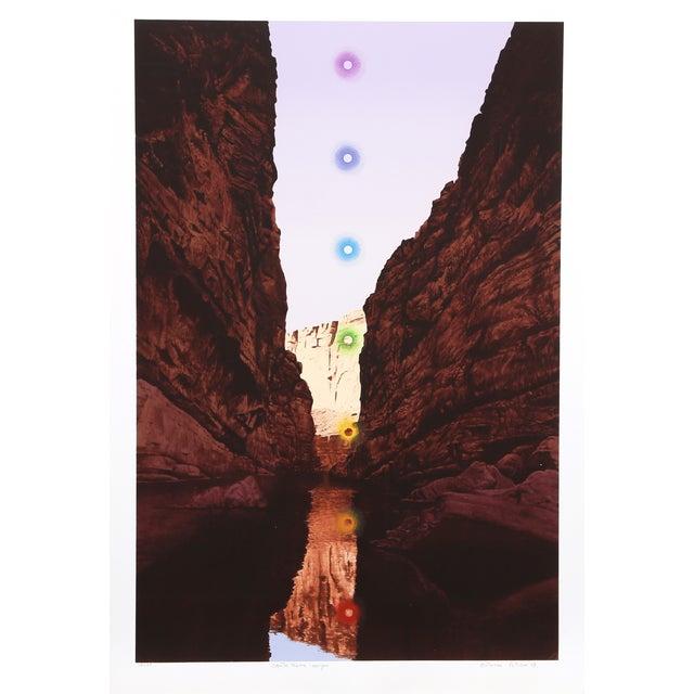 Antonio Peticov 'Santa Elena Canyon' Lithograph - Image 1 of 3