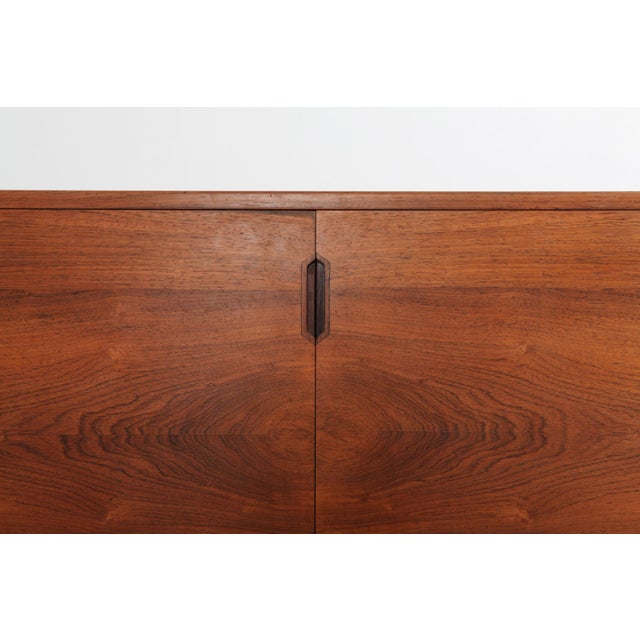 Scandinavian Modern Svend Langkilde Cabinet in Rosewood and Brass - 1950 For Sale - Image 9 of 11