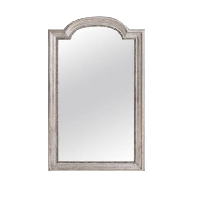 French 19th Century Louis Philippe Silver Gilt Mirror For Sale