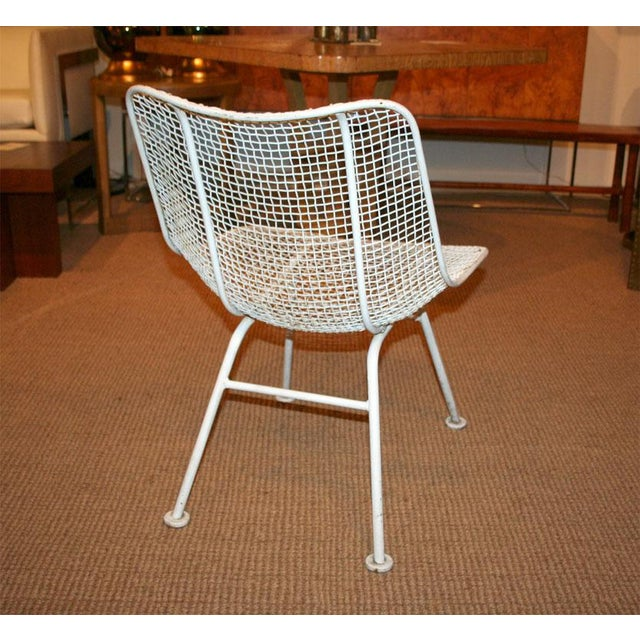 Woodard Jet Age Wire Mesh Outdoor Chairs - Set of 24 For Sale - Image 5 of 10