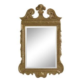 Friedman Brothers Gold Framed Beveled Glass Mirror For Sale