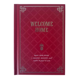 Welcome Home Book, Red Hardcove For Sale