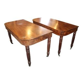 20th Century Art Nouveau Console Tables - a Pair For Sale