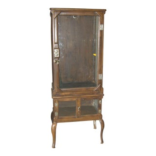 19th Century Doctor Dentist Cabinet For Sale