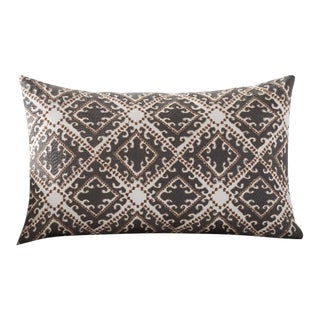 """Pottery Barn """"Nya"""" Embroidered Lumbar Pillow Cover For Sale"""