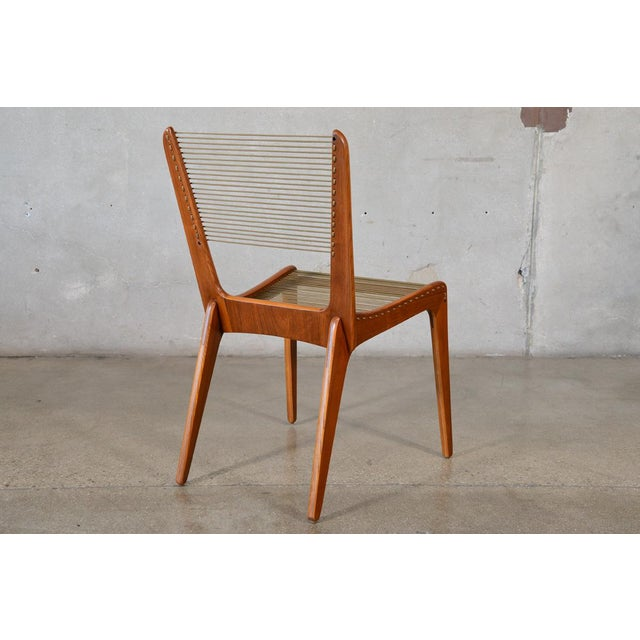 Jacques Guillou Modern String Chairs - Set of 4 - Image 7 of 8