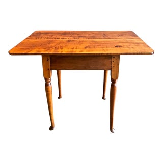 18th Century Queen Anne Tavern Table For Sale