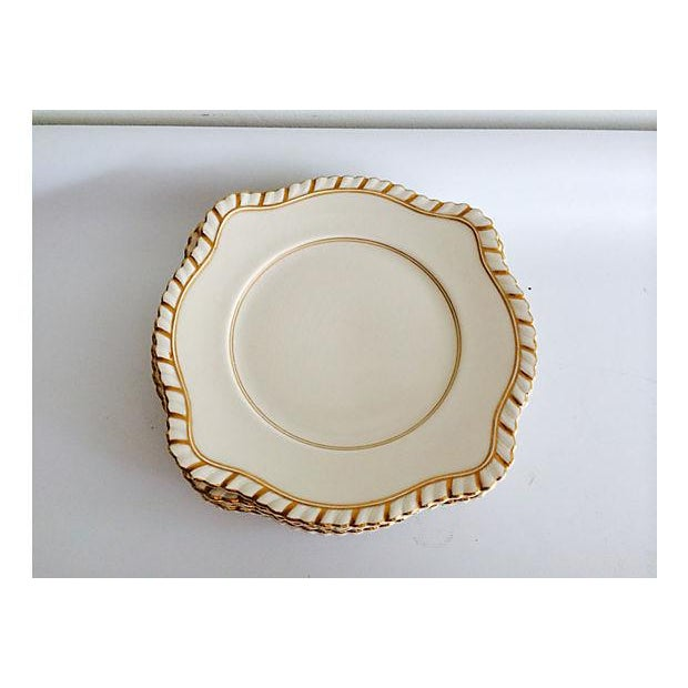 English Dessert Plates - Set of 7 - Image 3 of 5