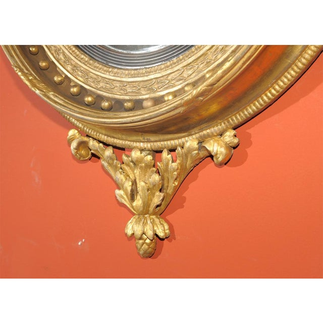 Early 19th Century Early 19th Century Regency Convex Mirror For Sale - Image 5 of 6