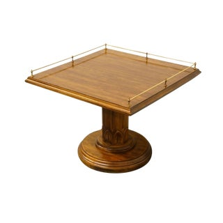 20th Century Traditional Davis Cabinet Solid Cherry End Table For Sale