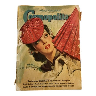 1940s Vintage Bradshaw Crandell Cover Art Cosmopolitan Magazine For Sale