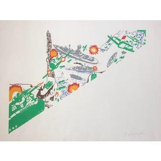 """""""Comic Book Warfare"""" Pop Art Serigraph by Roger Benedetti, 1979 For Sale"""