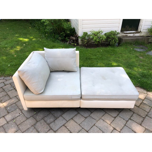 Mid-Century Modern 1990s Mid-Century Modern Ligne Roset Nomade by Didier Gomez Chaise For Sale - Image 3 of 11