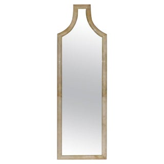 Tall Parchment Mirror For Sale