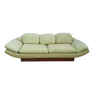 1960's MCM Adrian Pearsall Gondola Sofa For Sale