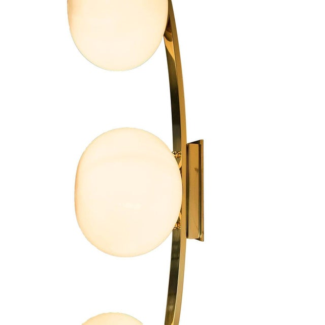 Brass Cresta Sconce by Fabio Ltd For Sale - Image 7 of 10