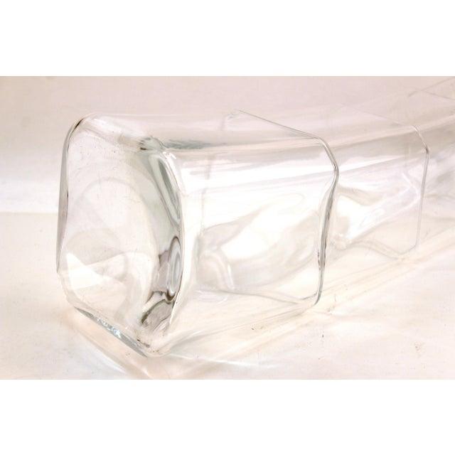 Denizli Modern Stacked Leaning Glass Vase For Sale - Image 9 of 10