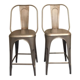 Restoration Hardware Remy Collection Cafe Counter Stool- A Pair